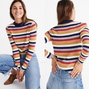 Madewell Mockneck Pullover Sweater